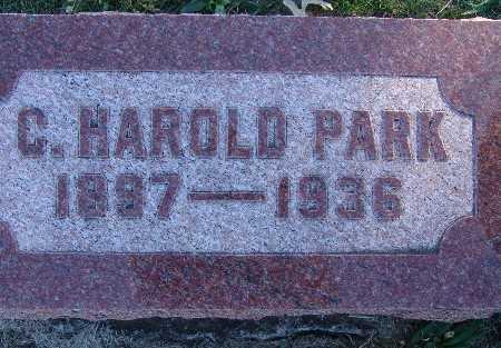 PARK, C. HAROLD - Warren County, Iowa   C. HAROLD PARK