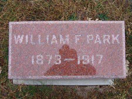 PARK, WILLIAM F. - Warren County, Iowa   WILLIAM F. PARK
