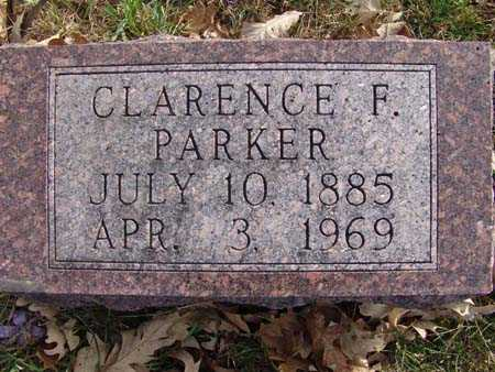 PARKER, CLARENCE F. - Warren County, Iowa | CLARENCE F. PARKER