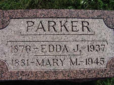 PARKER, MARY M. - Warren County, Iowa | MARY M. PARKER