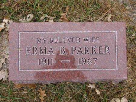 PARKER, ERMA B. - Warren County, Iowa | ERMA B. PARKER