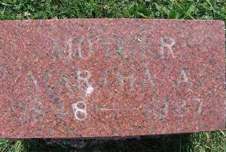 PARKER, MARTHA A. - Warren County, Iowa | MARTHA A. PARKER