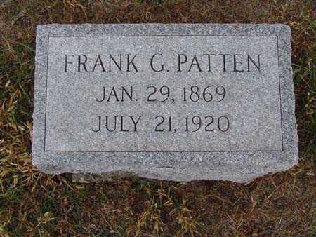 PATTEN, FRANK G. - Warren County, Iowa | FRANK G. PATTEN
