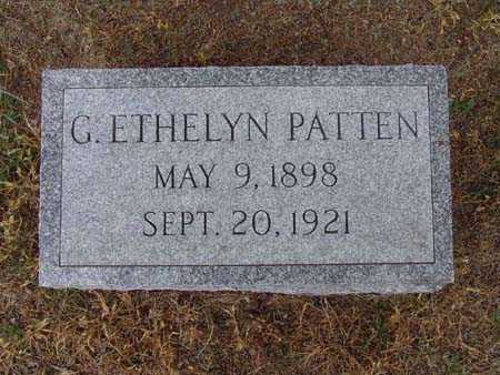 PATTEN, G. ETHELYN - Warren County, Iowa | G. ETHELYN PATTEN