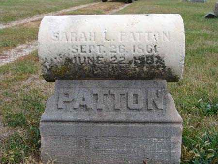 PATTON, SARAH L. - Warren County, Iowa | SARAH L. PATTON