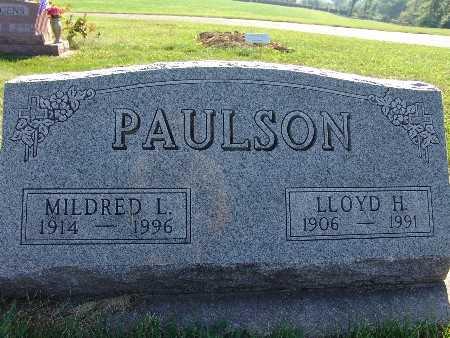 PAULSON, MILDRED L. - Warren County, Iowa | MILDRED L. PAULSON