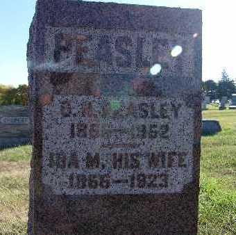 PEASLEY, IDA M. - Warren County, Iowa | IDA M. PEASLEY