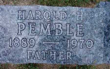 PEMBLE, HAROLD H. - Warren County, Iowa | HAROLD H. PEMBLE