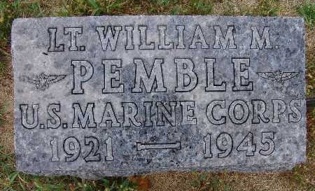 PEMBLE, WILLIAM M. - Warren County, Iowa | WILLIAM M. PEMBLE