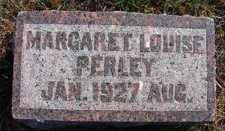 PERLEY, MARGARET LOUISE - Warren County, Iowa   MARGARET LOUISE PERLEY