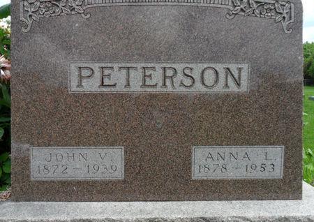PETERSON, JOHN V. - Warren County, Iowa | JOHN V. PETERSON