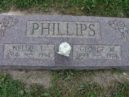 PHILLIPS, GEORGE W. - Warren County, Iowa   GEORGE W. PHILLIPS