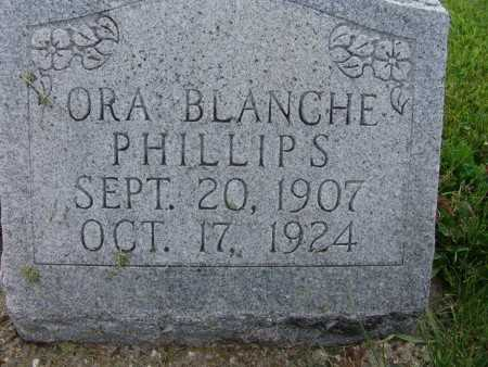 PHILLIPS, ORA BLANCHE - Warren County, Iowa | ORA BLANCHE PHILLIPS