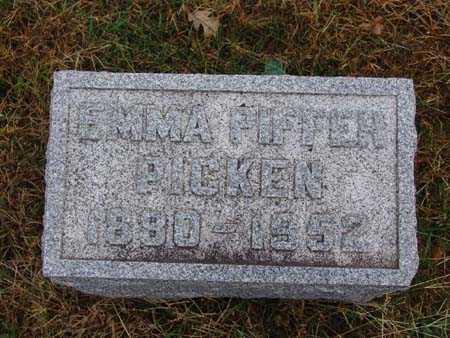PICKEN, EMMA PIFFER - Warren County, Iowa | EMMA PIFFER PICKEN
