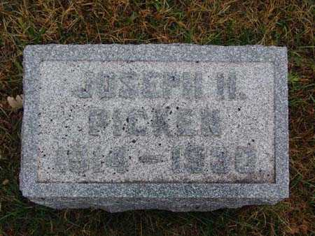 PICKEN, JOSEPH H. - Warren County, Iowa   JOSEPH H. PICKEN