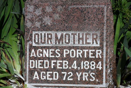 PORTER, AGNES - Warren County, Iowa | AGNES PORTER