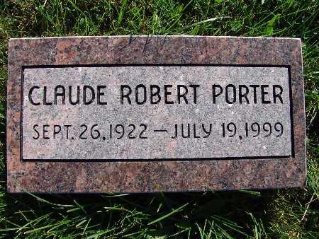 PORTER, CLAUDE ROBERT - Warren County, Iowa | CLAUDE ROBERT PORTER