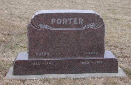 PORTER, CHARLES FRED (C. FRED) - Warren County, Iowa | CHARLES FRED (C. FRED) PORTER