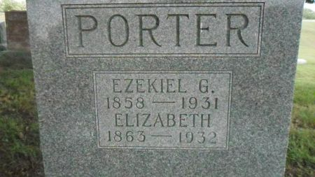 PORTER, ELIZABETH - Warren County, Iowa   ELIZABETH PORTER