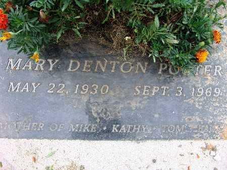 PORTER, MARY DENTON - Warren County, Iowa | MARY DENTON PORTER