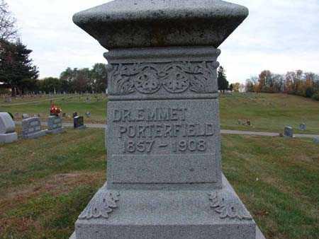 PORTERFIELD, DR. EMMET - Warren County, Iowa | DR. EMMET PORTERFIELD