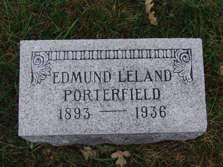 PORTERFIELD, EDMUND LELAND - Warren County, Iowa | EDMUND LELAND PORTERFIELD