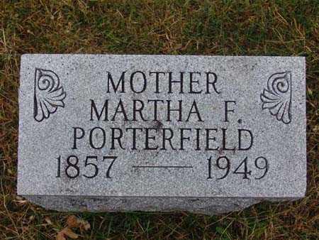 PORTERFIELD, MARTHA F. - Warren County, Iowa | MARTHA F. PORTERFIELD