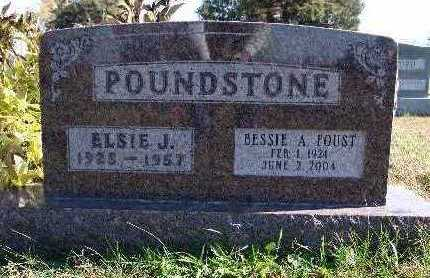 POUNDSTONE, ELSIE J. - Warren County, Iowa | ELSIE J. POUNDSTONE