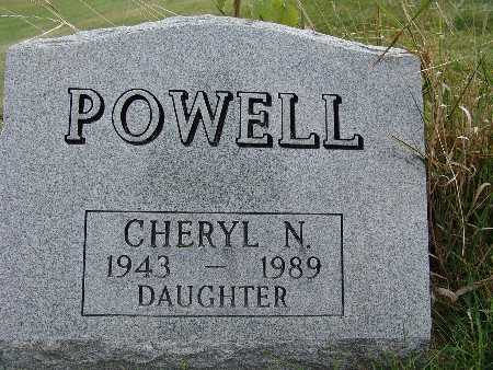POWELL, CHERYL N. - Warren County, Iowa | CHERYL N. POWELL
