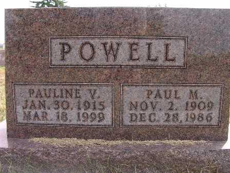 POWELL, PAUL M. - Warren County, Iowa | PAUL M. POWELL