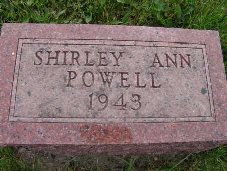 POWELL, SHIRLEY ANN - Warren County, Iowa | SHIRLEY ANN POWELL