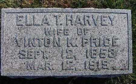 PRICE, ELLA T. HARVEY - Warren County, Iowa | ELLA T. HARVEY PRICE