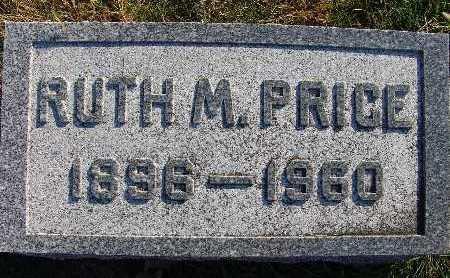 PRICE, RUTH M. - Warren County, Iowa   RUTH M. PRICE