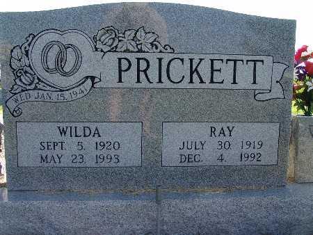 PRICKETT, WILDA - Warren County, Iowa | WILDA PRICKETT