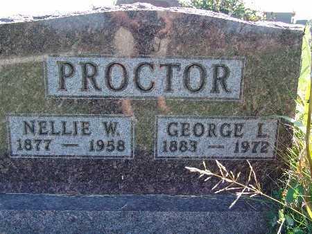 PROCTOR, NELLIE W - Warren County, Iowa | NELLIE W PROCTOR