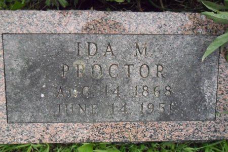 PROCTOR, IDA M. - Warren County, Iowa | IDA M. PROCTOR