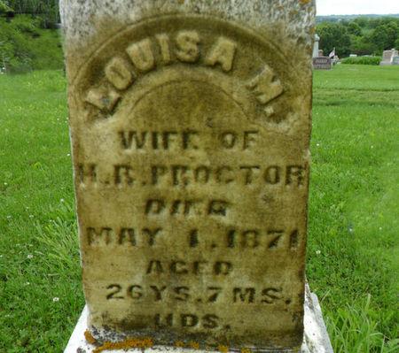 PROCTOR, LOUISA M. - Warren County, Iowa | LOUISA M. PROCTOR