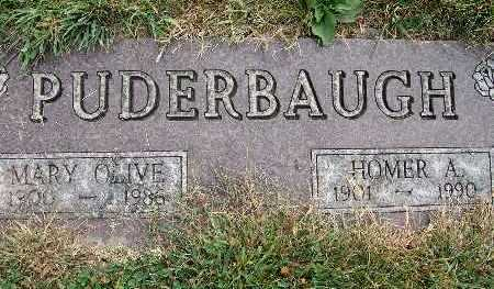 PUDERBAUGH, MARY OLIVE - Warren County, Iowa | MARY OLIVE PUDERBAUGH
