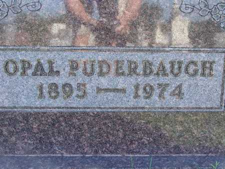 PUDERBAUGH, OPAL - Warren County, Iowa   OPAL PUDERBAUGH