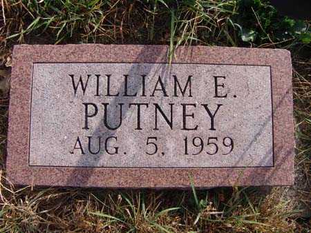 PUTNEY, WILLIAM E. - Warren County, Iowa   WILLIAM E. PUTNEY