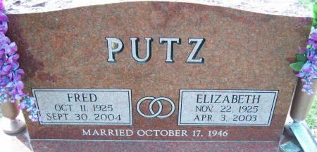 PUTZ, FRED - Warren County, Iowa   FRED PUTZ