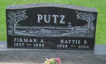 PUTZ, HATTIE P - Warren County, Iowa | HATTIE P PUTZ