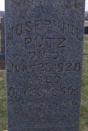PUTZ, JOSEPHINE - Warren County, Iowa | JOSEPHINE PUTZ