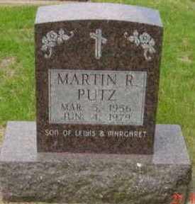 PUTZ, MARTIN R - Warren County, Iowa | MARTIN R PUTZ