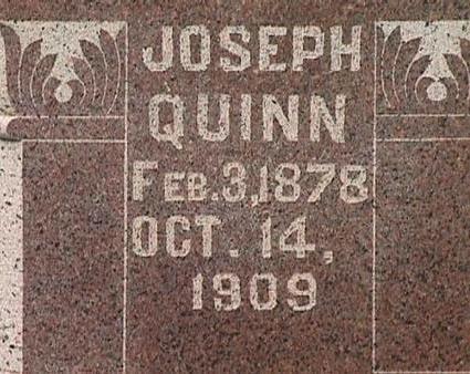QUINN, JOSEPH - Warren County, Iowa | JOSEPH QUINN
