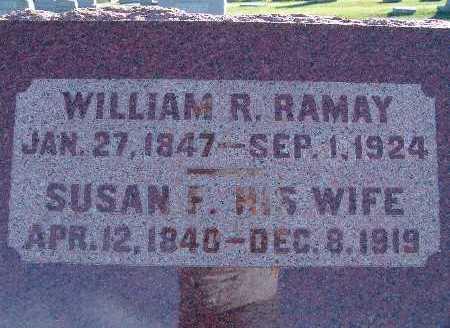 RAMAY, WILLIAM R. - Warren County, Iowa | WILLIAM R. RAMAY