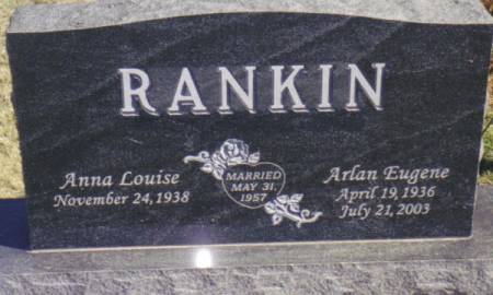 RANKIN, ARLAN EUGENE - Warren County, Iowa | ARLAN EUGENE RANKIN