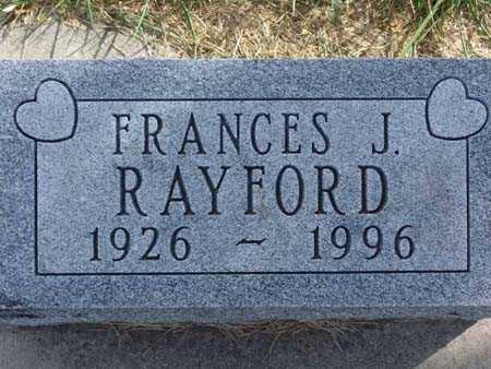 RAYFORD, FRANCES J. - Warren County, Iowa | FRANCES J. RAYFORD