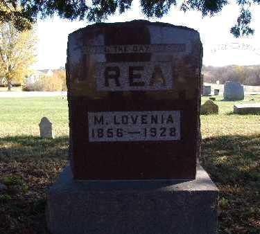 REA, M. LOVENIA - Warren County, Iowa | M. LOVENIA REA