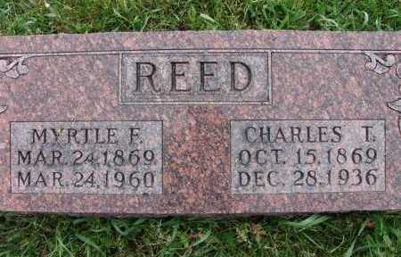 REED, CHARLES T. - Warren County, Iowa | CHARLES T. REED